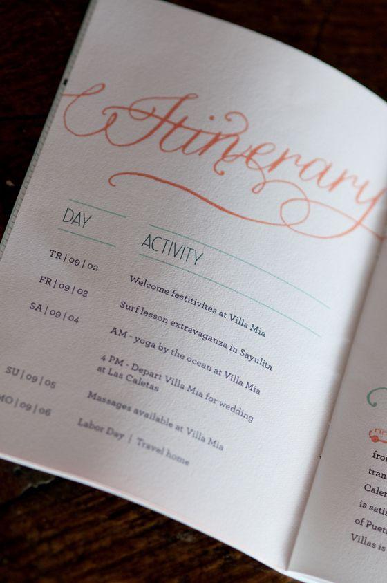 Wedding Gift Bag Itinerary : ... by My Wedding Reception Ideas on Wedding Gift Bags - Wedding Welc