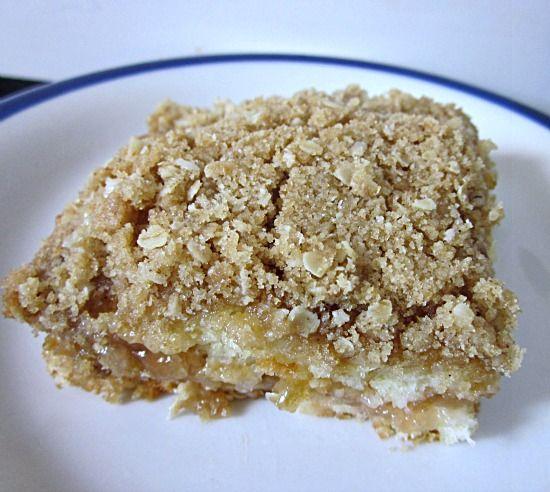 From Grandma Loy's Kitchen: Bumpy Rhubarb Coffee Cake-Saturday Sweets