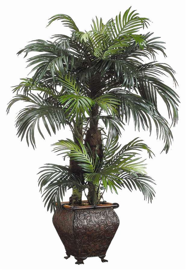 Phoenix palm floor plant folhas pinterest for Artificial plants for decoration