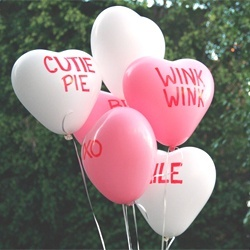 DIY candy conversation heart balloons | Holiday--Valentine's Day | Pi ...