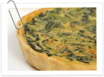 I love spinach and this looks so easy!