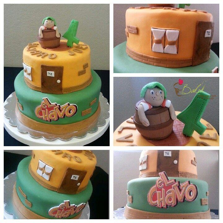 El chavo del 8 cake