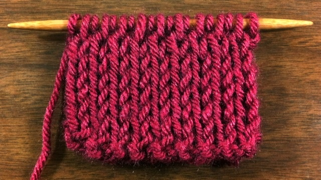 Double Knitting : Double Knit Fabric Stitch Knitting Pinterest
