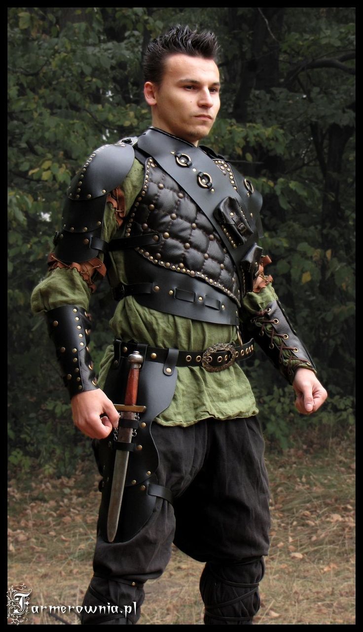 Medieval knight cosplay