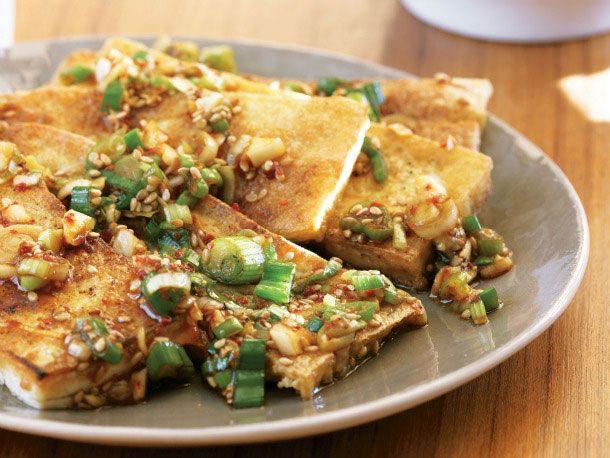 seasoned tofu | Garden of Eatin! | Pinterest
