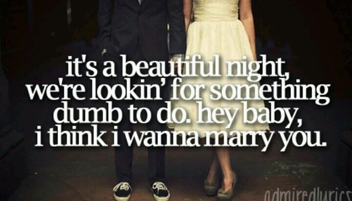 Marry You Bruno Mars