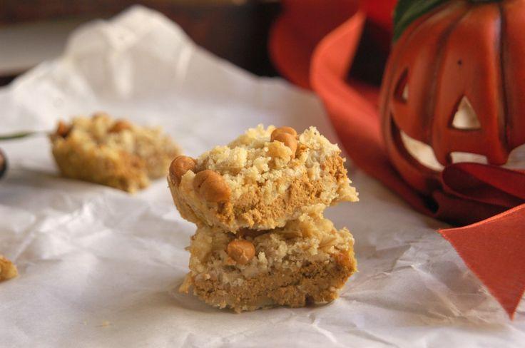 Pumpkin Pie Butterscotch Bars | Fall Baking | Pinterest