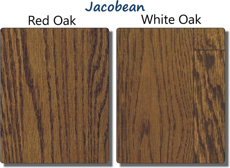 Jacobean Stain On Red Oak And White Floors That Will
