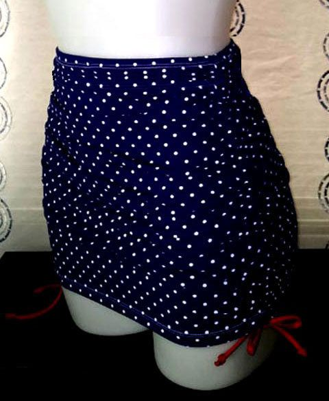 high waist adjustable length swim skirt my style