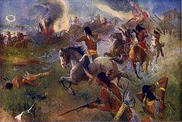 Siege of New Ulm, August 19, 1862.