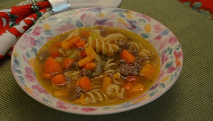 Sweet Potato & Sausage Soup   Soup   Pinterest