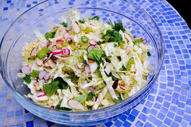 Napa Cabbage Salad- | Salad Bar | Pinterest