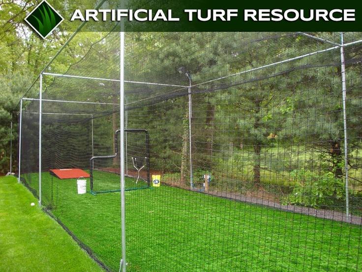 batting cage in backyard baseball pinterest