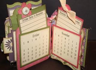 pocket calendar - bjl