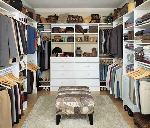 Walk in closet in our bedroom designs products for for Fancy walk in closet