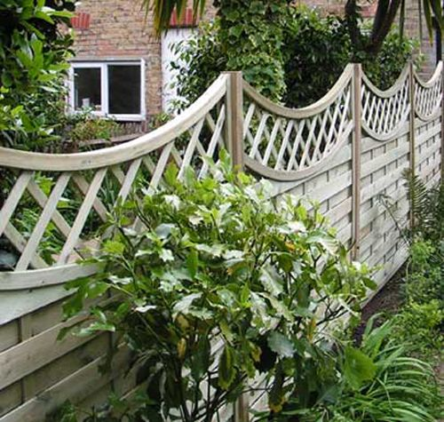 Garden fence ideas fencing and landscaping pinterest for Garden fence designs ideas