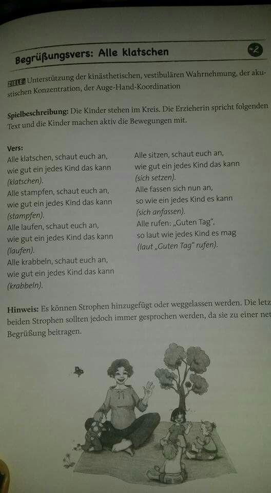 Kindergarten lieder, Kindergartenbeginn, Kinder reime