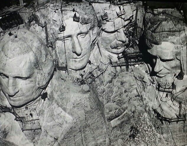 Creation of Mt Rushmore | Bodies building | Pinterest