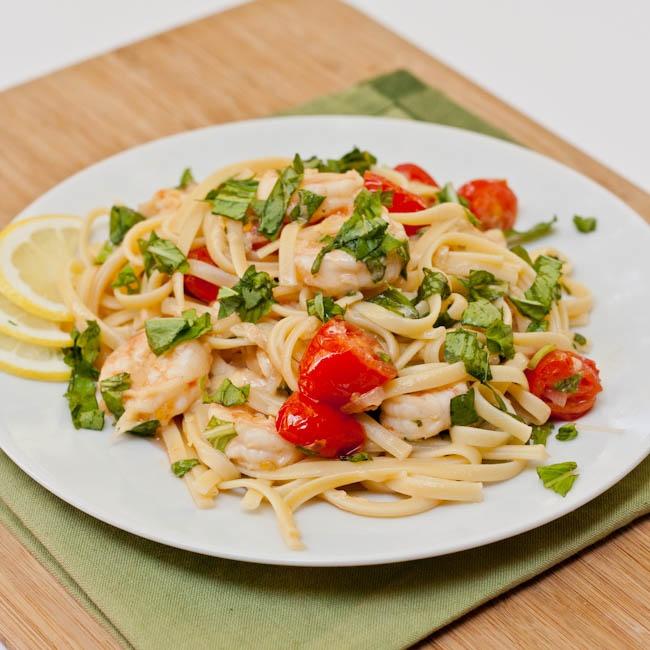 Shrimp Scampi Pasta - avocadopesto | Recipes:Seafood | Pinterest