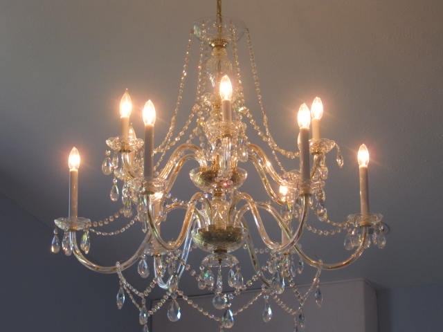 Master bedroom chandelier OUR HOME SWEET HOME