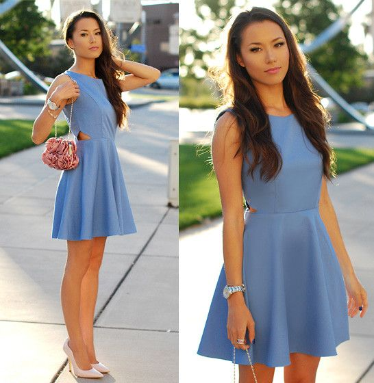 Secret Periwinkle (by Jessica R.) http://lookbook.nu/look/3722897-Secret-Periwinkle