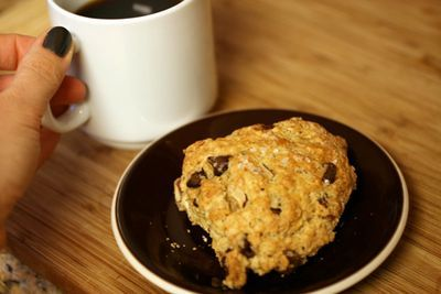 Hazelnut Chocolate Chip Scones | Desserts & Baked Goodies | Pinterest
