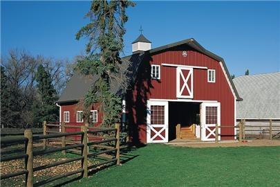 Barn house morton building my dream barnyard pinterest for Houses that look like barns