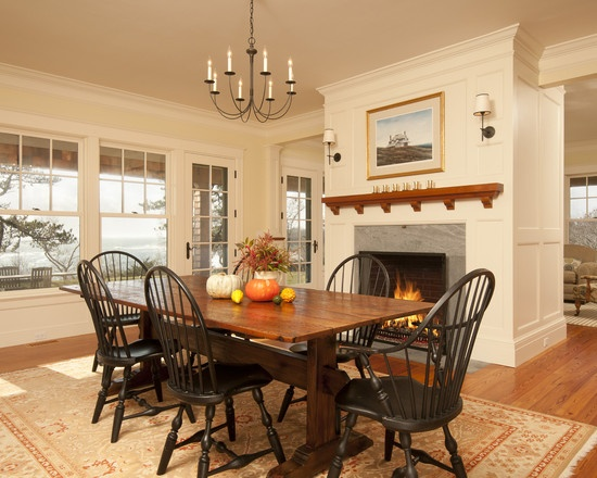 See through fireplace design dream house pinterest for Dining room with fireplace designs