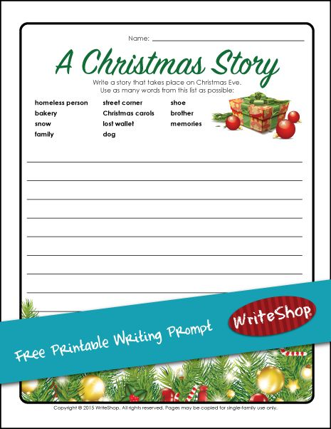 Write my christmas story essay