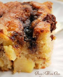 Yogurt Apple Cake with a Cinnamon Streak #thegourmetmom http://ow.ly ...