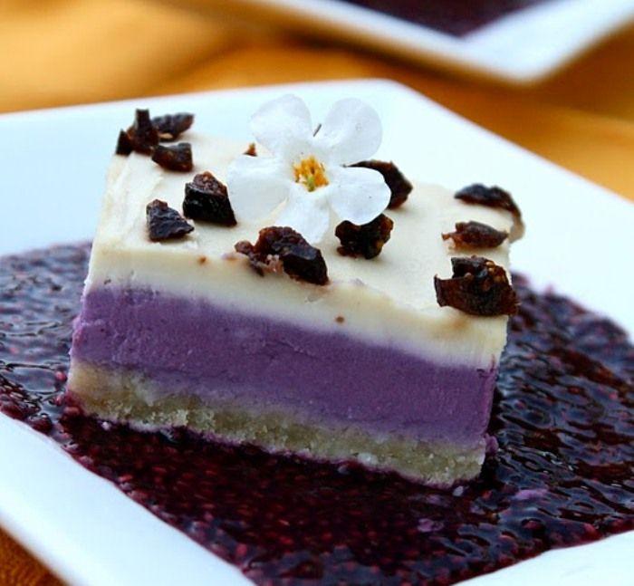 Creamy Grape Dessert Recipe — Dishmaps