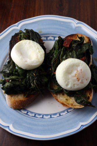 Smoky Chard Over Grilled Bread | Brote | Pinterest