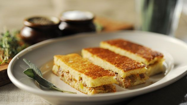 Panini-Pressed Brioche Stuffing this has got to be the ultimate ...