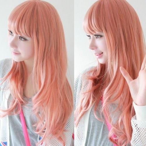 Peach Hair Color  Meinmainmane  Pinterest