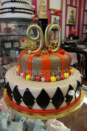 90th BIRTHDAY CAKE 90th Birthday Party Ideas Pinterest