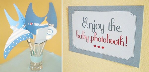 baby shower games set up a baby photobooth with props would be fun