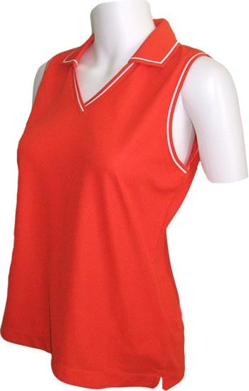 Pin by lori 39 s golf shoppe on ladies fashionable plus size for Plus size sleeveless golf shirts