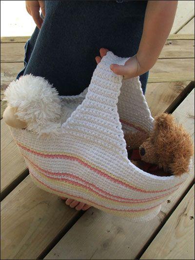 Crochet Grab Bag Pattern : Mini Bag Crochet Patterns Pinterest