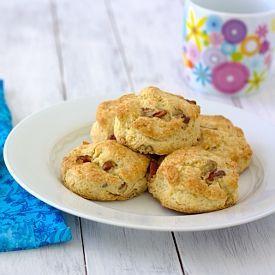 Pecan Sour Cream Biscuits   Good Food   Pinterest
