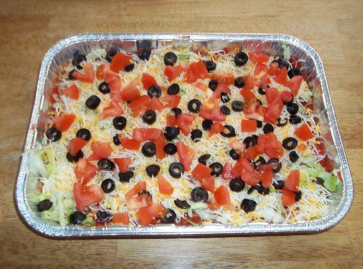 7 Layer Bean Dip Recipes — Dishmaps