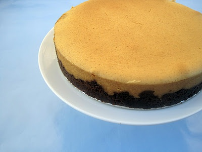 Spiced Pumpkin Cheesecake with Gingersnap Crust @Sassandra Lewis