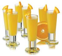 Mango Bellini | Mini appetizer and dessert tasting party | Pinterest