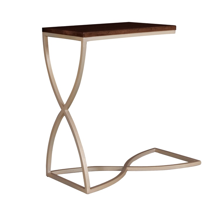 Sofa Tray Table Metal And Wood Products I Love Pinterest