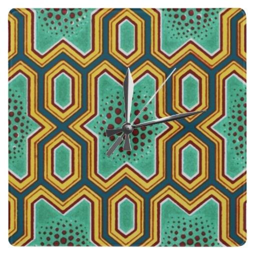 Geometric Chinese Japanese Graphic Design Clock: pinterest.com/pin/548454060841360353