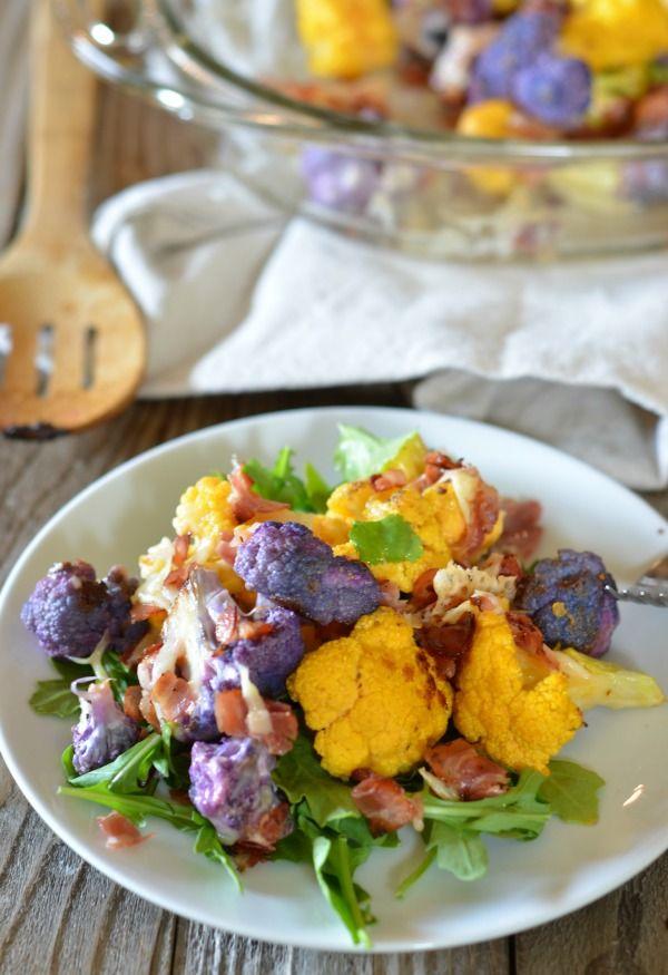 Easy Roasted Cheddar-y Cauliflower Recipes — Dishmaps
