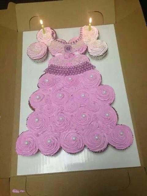 Princess Cupcake Cake Images : Cupcakes Princess Dress Creative Cup Cakes Pinterest