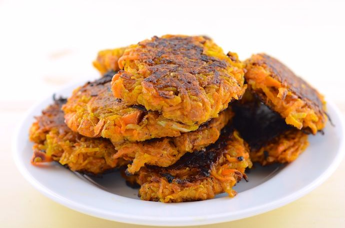 Sweet Potato Pancakes (vegan) | yum | Pinterest