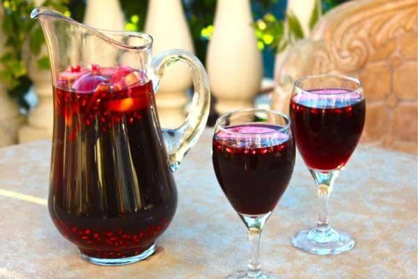 wine on rosh hashanah