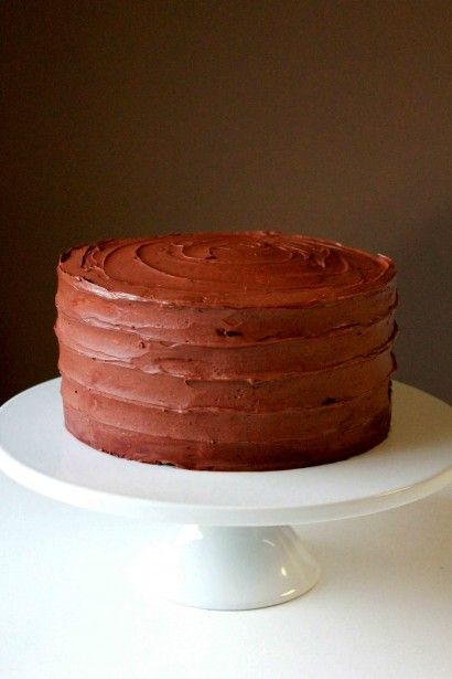 Chocolate Devil's Food Cake with Chocolate and Rum Frosting | Recipe