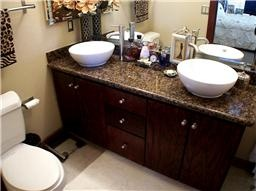 Raised Sink Bowls : bathroom with raised bowl sinks Dream Home Pinterest